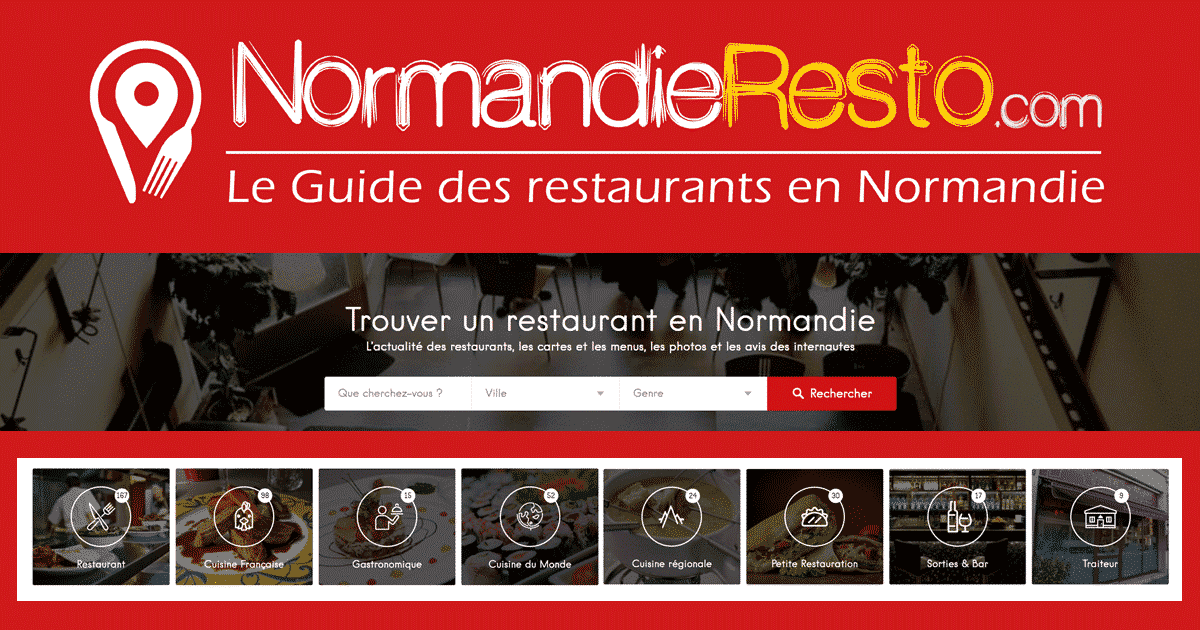 normandieresto le guide des restaurants en normandie. Black Bedroom Furniture Sets. Home Design Ideas