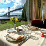 table vue sur la Seine