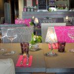 Table dressée à la suite fécamp