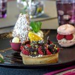 assiette de desserts à la suite
