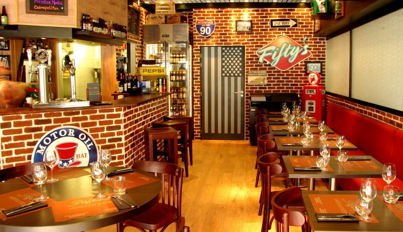 Fifty 39 s american bistrot au havre normandie resto for Bar americain cuisine