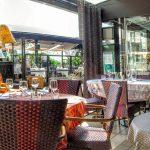 Vue sur la terrasse Restaurant le Grignot
