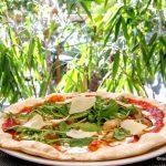 Pizza au Shiitake au Jardin