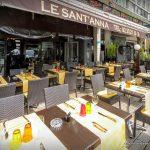 La terrasse du sant'anna au Havre
