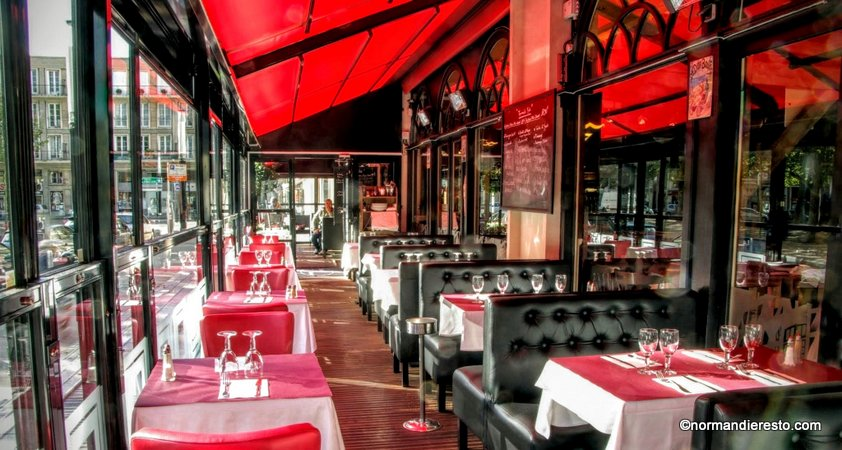 le bistrot parisien restaurant brasserie au havre normandie resto. Black Bedroom Furniture Sets. Home Design Ideas