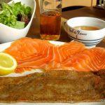 Galette au saumon