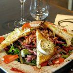 salade chèvre lardons