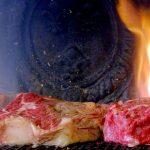 Viande à la cheminée