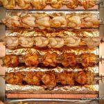 Les poulets rôtis