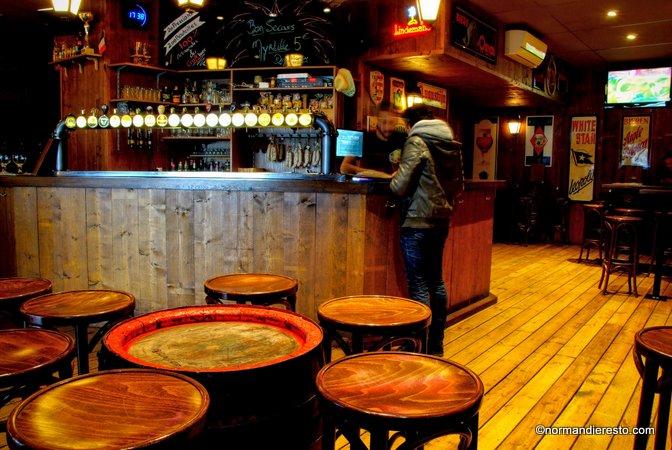 Le trappist au havre bar bi re belge normandie resto for Bar le bureau le havre