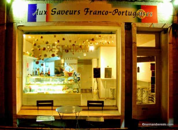 aux saveurs franco portugaises restaurant au havre normandie resto. Black Bedroom Furniture Sets. Home Design Ideas