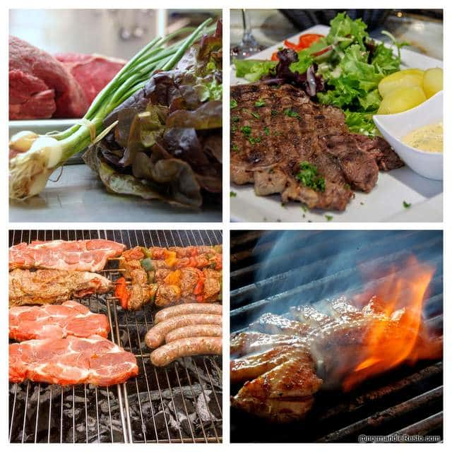 plats de viande au restaurant
