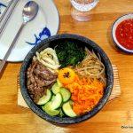 Bibimbap au boeuf au restaurant Kimchi au Havre