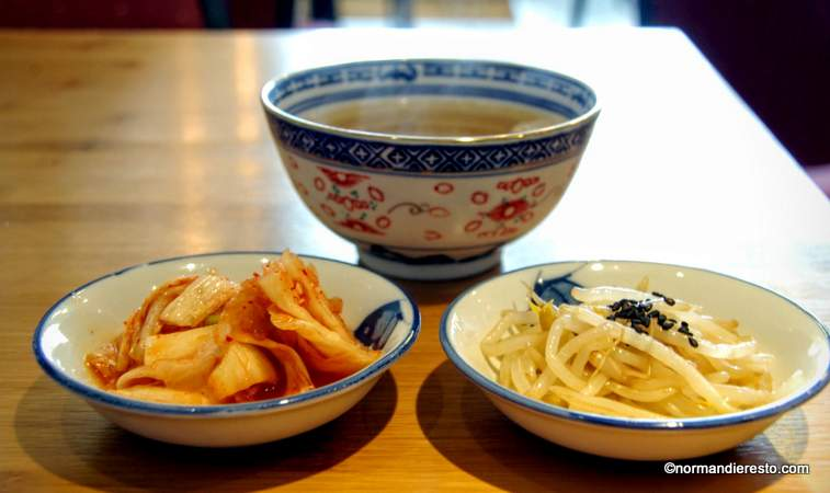 cuisine coréenne au havre, amuses bouches.