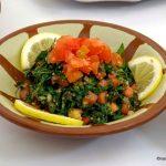 Taboulé libanais au Zgorthiote