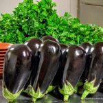 Aubergine et persil cuisine libanaise