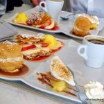 Café gourmand au restaurant le Coq Hardy à Duclair
