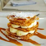 Mille feuille minute au Coq Hardy Duclair