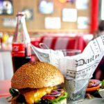 india burger au Fifty's american diner au Havre