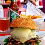 Burger Houston au Fifty's au Havre