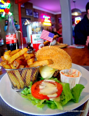 le fifty 39 s american diner au havre restaurant burger normandieresto. Black Bedroom Furniture Sets. Home Design Ideas