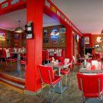 La salle du Fifty's american diner au Havre