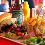 Chicago burger au Fifty's au Havre