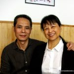 Le chef et son épouse.