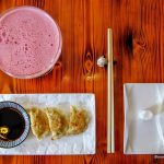 raviolis chinois au restaurant chinois Lamian au Havre
