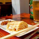 chou chinois marinés Kimchi, au restaurant Lamian au Havre