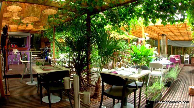 Le jardin restaurant le havre normandie resto for Restaurant jardin lee