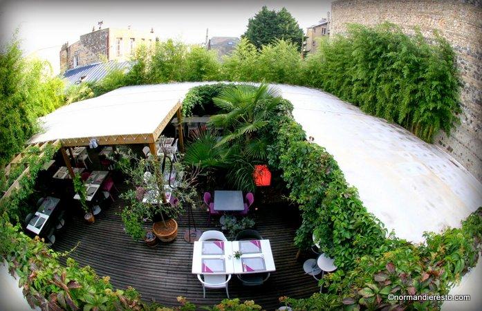 Le jardin restaurant le havre normandie resto for Entretien jardin le havre