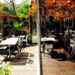 Terrasse du restaurant le jardin