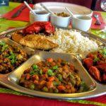 Assiette Thali indienne