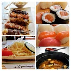 Le menu Kyoto B