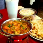 Karahi au restaurant indien au Havre