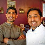 Les chefs Amjad et Naeem