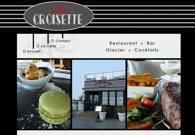 la croisette restaurant au havre normandie resto. Black Bedroom Furniture Sets. Home Design Ideas