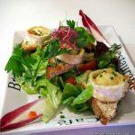 Salade de chèvre chaud à la Grignotière au Havre