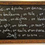 principe de la bonne cuisine