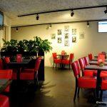 La salle du café sirius