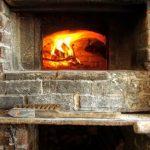 La cheminée du restaurant