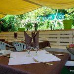 Le patio Terrasse du restaurant