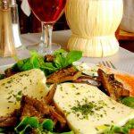 Mozzarella au restaurant italien la Sardaigne au Havre