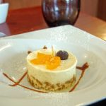 Cheesecake clémentine et chocolat blanc