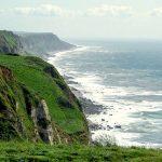 Les falaises de la cote d'albatre
