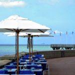 Manger au bord de la mer à Le Havre