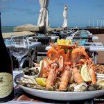 plateau de fruits de mer au Havre Sainte Adresse