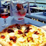 pizza en front de mer
