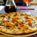 Pizza st jacques au Havre